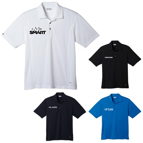 Logo Imprinted Banhine Short Sleeve Polo Shirts