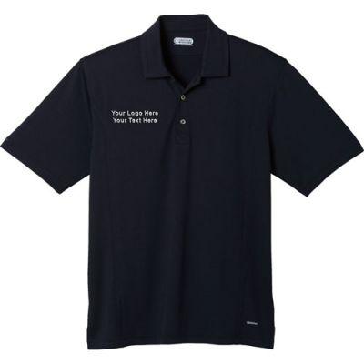 Logo imprinted banhine short sleeve polo shirts golf for Custom printed golf shirts