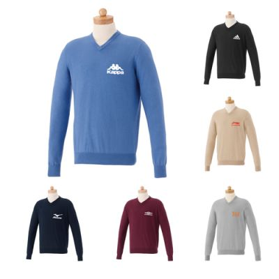 Custom Imprinted V Neck Sweaters