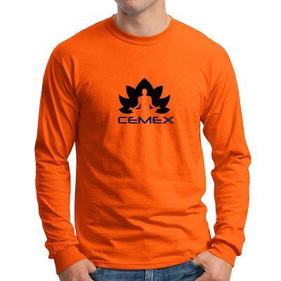 Custom gildan adult ultra cotton long sleeve t shirts for Personalized long sleeve t shirts