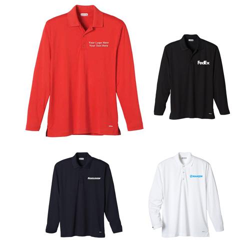 Custom printed long sleeve polo shirts long sleeve for Custom printed polo shirts cheap