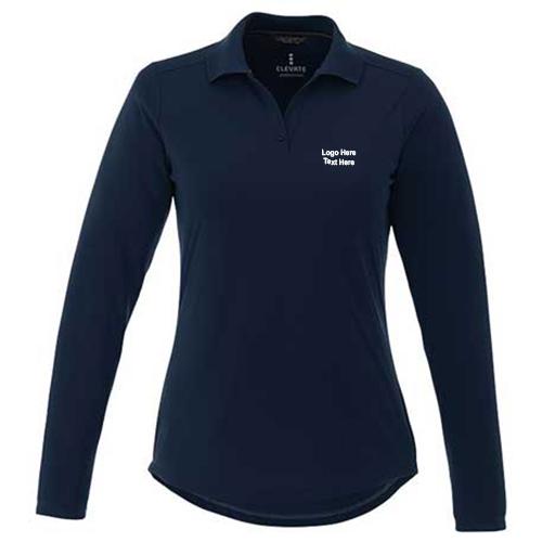 1c6815fe Promotional Mori Long Sleeve Polo Shirts for Women - Long Sleeve