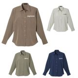 Custom Printed Women's Parsons Long Sleeve Shirts
