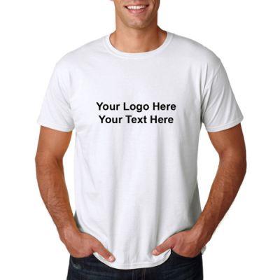 Custom Gildan Softstyle Adult T-Shirts - White