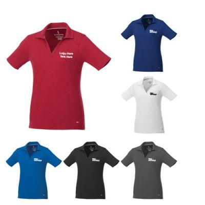 Custom Imprinted Women's Sporty Short Sleeve Polo Shirts