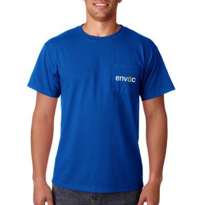 Custom Jerzees Adult Heavyweight Blend Pocket T-Shirts