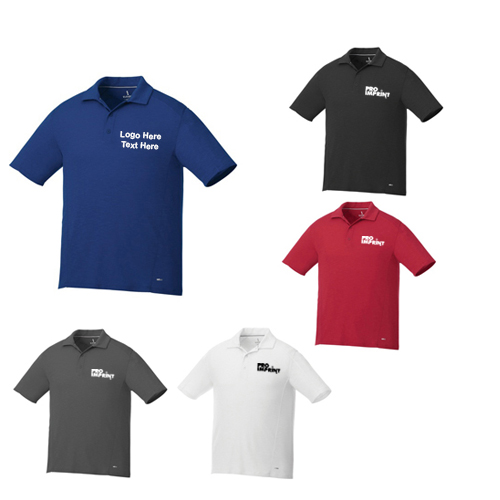 9b722f77 Custom Logo Imprinted Men's Short Sleeve Polo Shirts - Short Sleeve