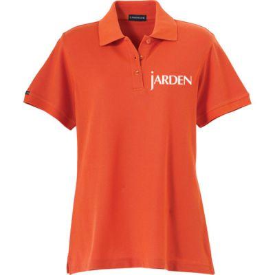 Custom Logo Imprinted Women's Madera Short Sleeve Polo Shirts