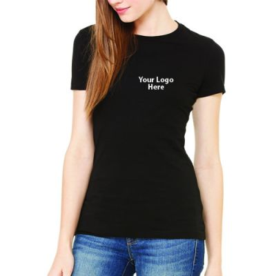 Custom printed bella canvas ladies 39 the favorite t shirts for Custom printed t shirts