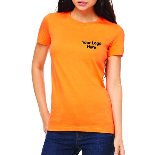 Custom Printed Bella Canvas Ladies' The Favorite T-Shirts