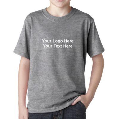 Custom printed jerzees youth heavyweight blend t shirts for Custom t shirts canada no minimum