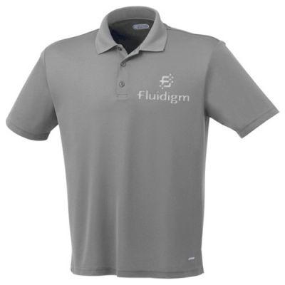 Custom Printed Men's Moreno Short Sleeve Polo Shirts