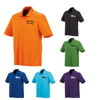 Custom Printed Men's Short Sleeve Polo Shirts
