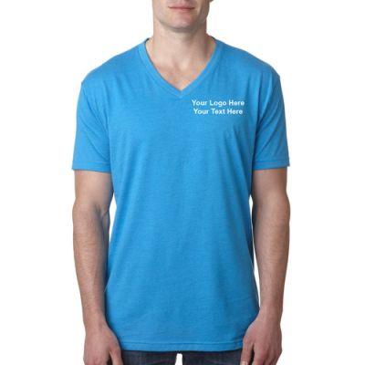 custom printed next level men 39 s premium cvc v neck t On next level printed shirts