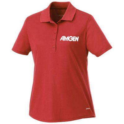 Custom Printed Women's Edge Short Sleeve Polo Shirts