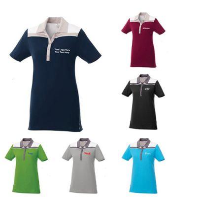 Custom Printed Women's Gydan Short Sleeve Polo Shirts