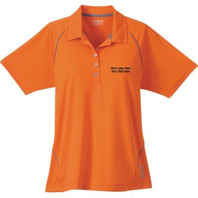 Custom printed women 39 s solway short sleeve polo shirts for Custom printed polo shirts cheap