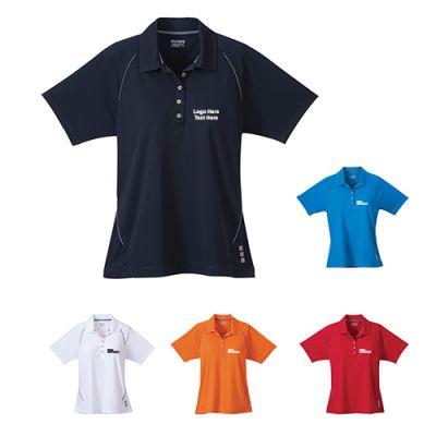 Custom Printed Women's Solway Short Sleeve Polo Shirts