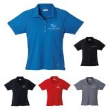 Custom Women's Manyara Short Sleeve Polo Shirts