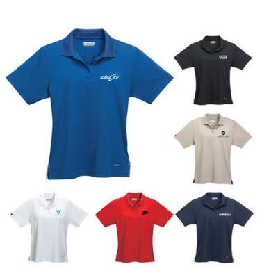 Custom Women's Pico Short Sleeve Polo Shirts with Pocket