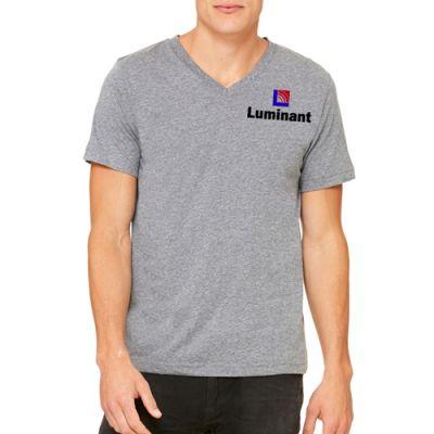 Customized Bella Canvas Unisex Jersey Short-Sleeve V-Neck T-Shirts