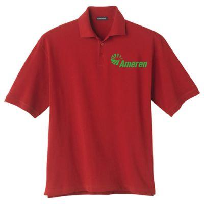 Customized Men's Ayer Short Sleeve Polo Shirts