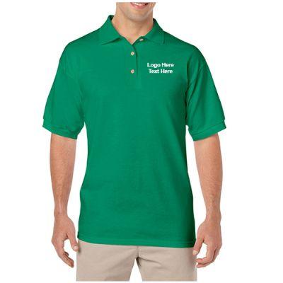 Promotional Gildan DryBlend Adult Jersey Sport  Polo T-Shirts
