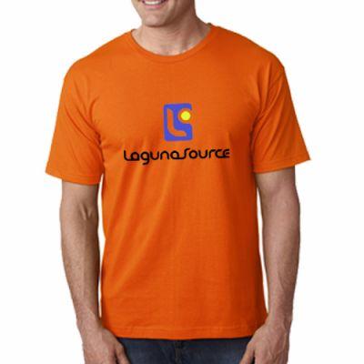 Promotional Logo Bayside Adult Short-Sleeve T-Shirts