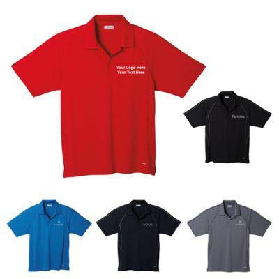 Promotional Logo Men's Manyara Short Sleeve Polo Shirts