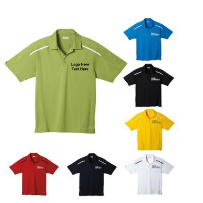 Promotional Logo Men's Nyos Short Sleeve Polo Shirts
