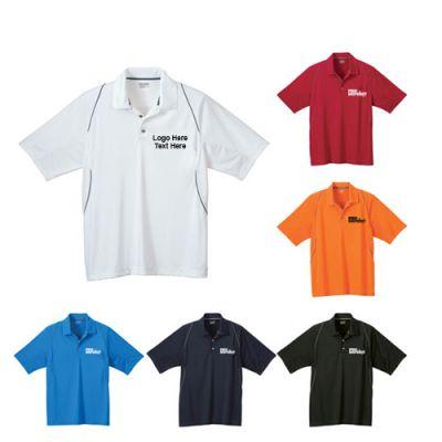 Promotional Logo Men's Solway Short Sleeve Polo Shirts