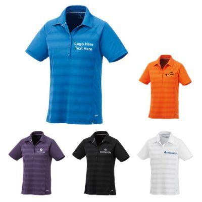 Promotional Logo Women's Short Sleeve Polo Shirts