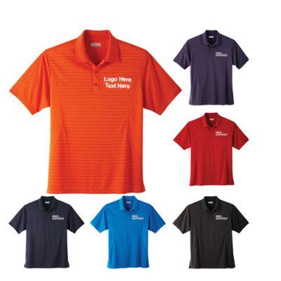 Promotional Men's Polyester Koryak Short Sleeve Polo Shirts