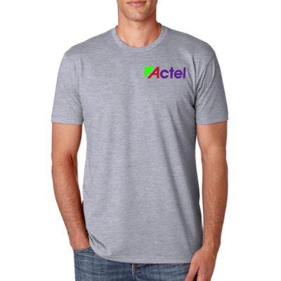 Promotional Next Level Men's Premium CVC Crew T-Shirts