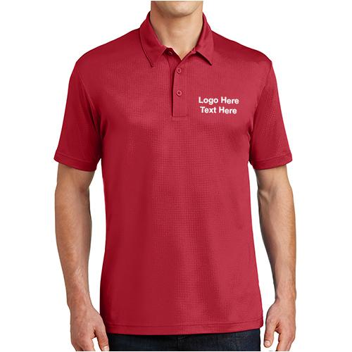 09222c381 Promotional Sport-Tek Embossed PosiCharge Tough Polo Shirts - Short Sleeve