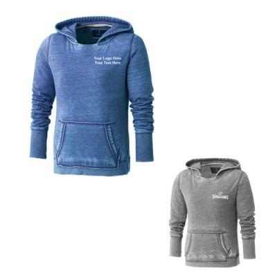 Customized Burnout Women's Fleece Kanga Hoodies
