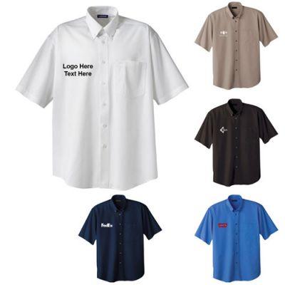 Custom Imprinted Men's Matson Short Sleeve Shirt Tall