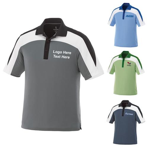 Custom Printed Men's Vesta Short Sleeve Polo