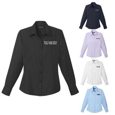 Custom Printed Women's Casual Long Sleeve Shirts