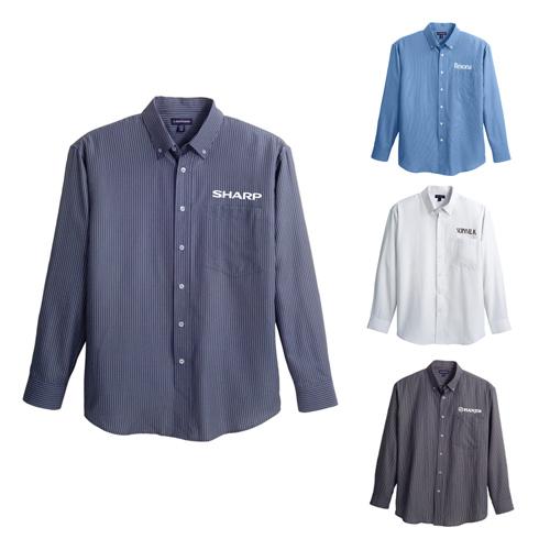 Custom imprinted men 39 s brewar long sleeve shirts long sleeve for Personalized long sleeve t shirts