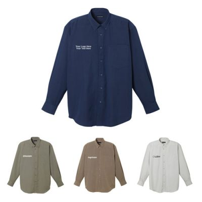 Custom Imprinted Mens Parsons Long Sleeve Shirts