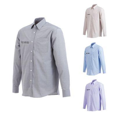 Custom Printed Men's Hayden Long Sleeve Shirts