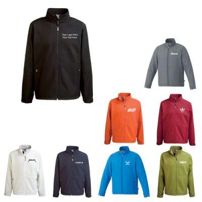 Custom Imprinted Men's Cavell Softshell Jackets