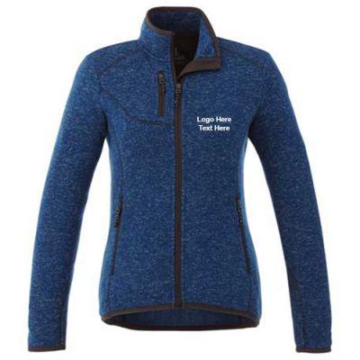 Custom Imprinted Tremblant Knit Jacket for Women