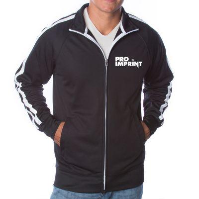 Unisex Lightweight Poly-Tech Track Jacket