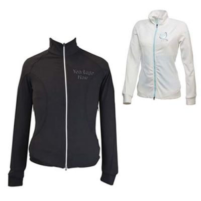 Custom Printed Women's Puma Golf Slim Track Jackets