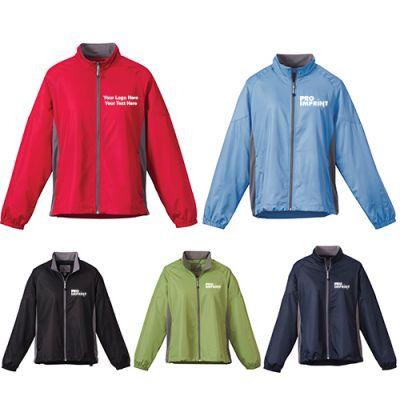 Custom Women's Grinnell Lightweight Polyester Jackets