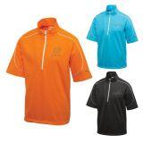 Customized Men's Puma Golf Short Sleeve Knit Wind...
