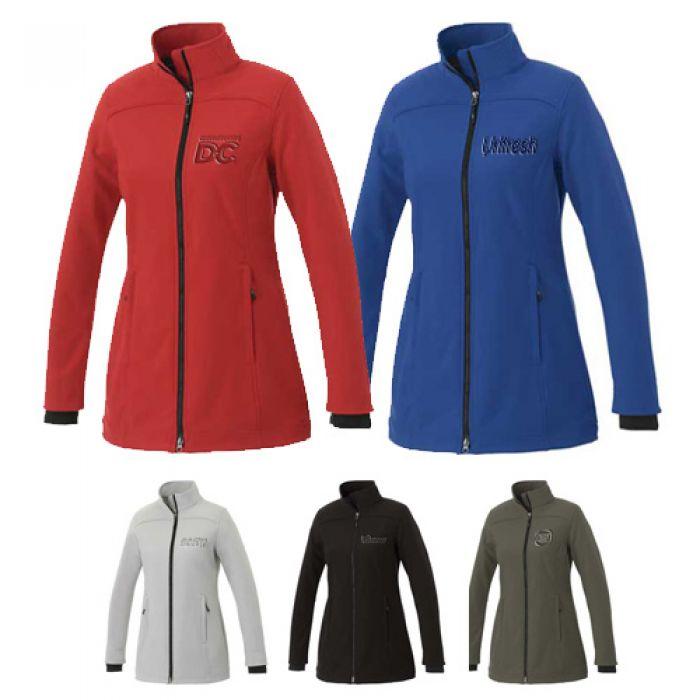 Customized Women's Vernon Softshell Jackets