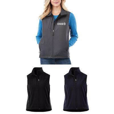 Custom Printed Women's Stinson Softshell Vests